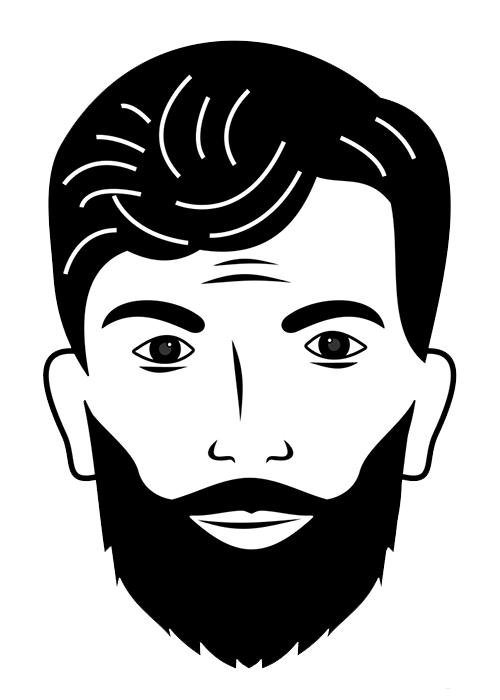 barba piena