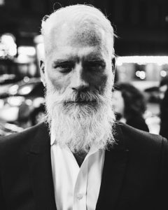 barba bianca età