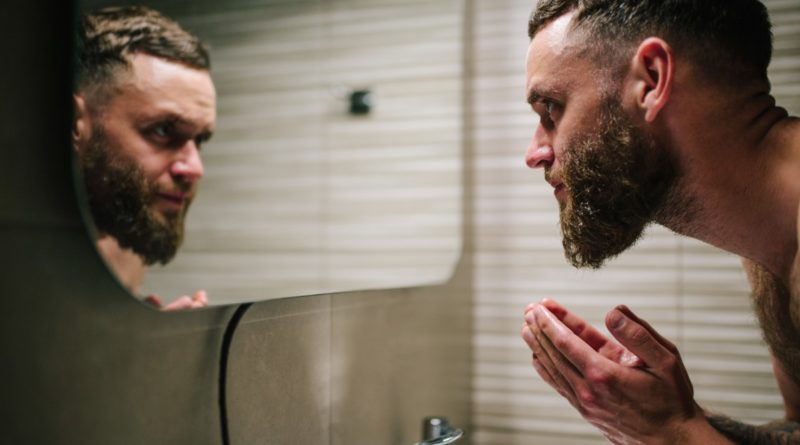 lavare la barba