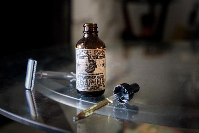 olio per la cura della barba