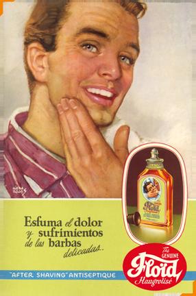 poster pubblicitario floid