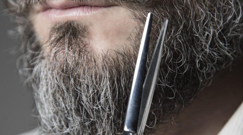 forbici per la barba ed i baffi
